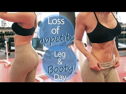 Loss of Appetite tips & Intense Legday