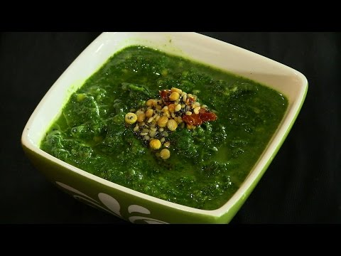 Spinach Curry Indian Recipe (Keerai Malagutal)