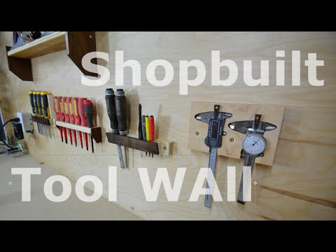 Shop organization - Tool wall