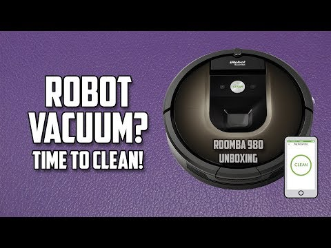 The Future of Cleaning with a Robot Vacuum!! - iRobot Roomba 980 Unboxing