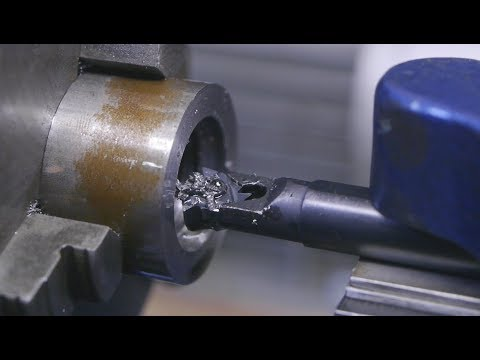 Old skool sliding spindle thread cutting / Making a spindle nose protector
