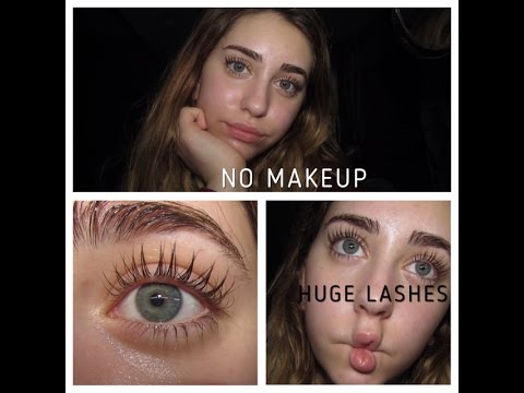 How to Get HUGE Eyelashes Without Makeup