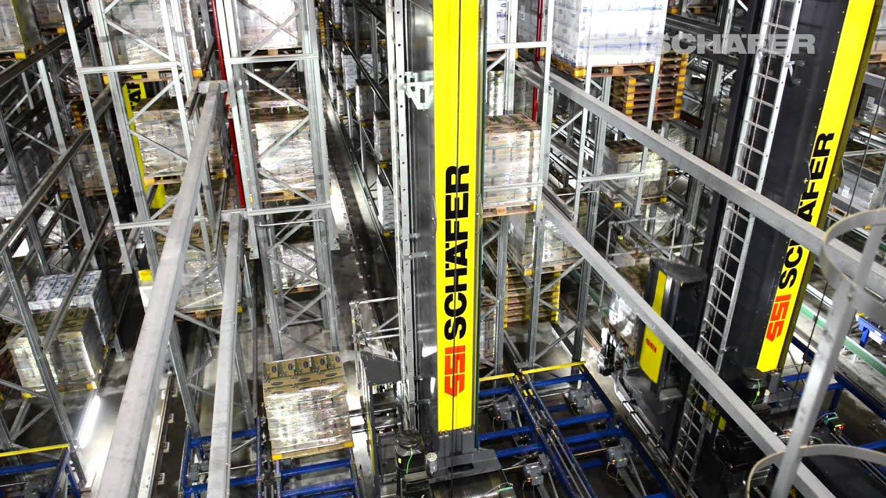 Storage and Retrieval Machine, High-Bay Warehouse, Logistics Software, Vinamilk in Asia