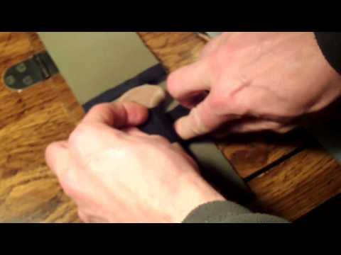 Tagged! Duct Tape Knife Sheath