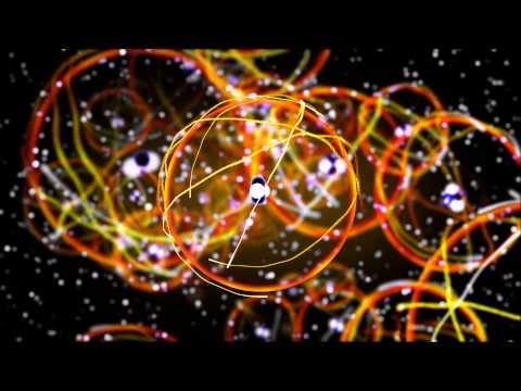 3D Animated Atomic Structure RT1 [1080p 60fps]