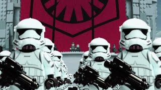 Star Wars: The Force Awakens Teaser #2 IN LEGO (Frame by Frame)