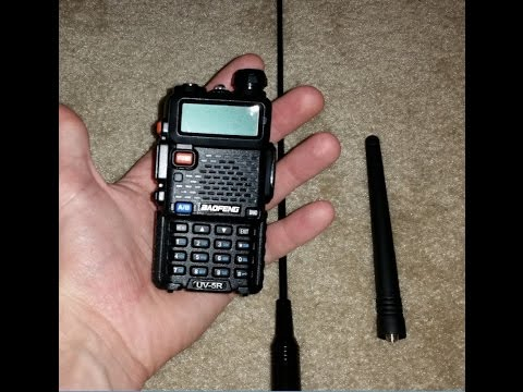 Baofeng UV-5R First Contact