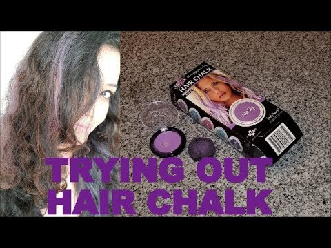 Trying Out Hair Chalk for FIRST TIME | Splat Hair Chalk
