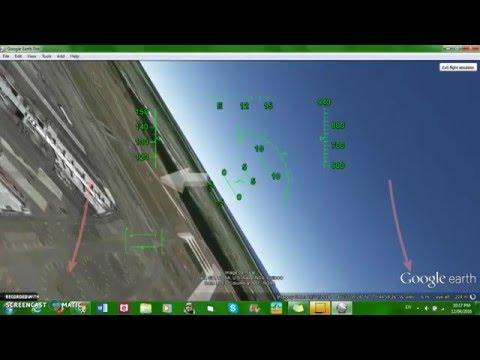 Flying the Google Earth Flight Simulator