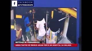 [brasil Urgente Pe] Polícia Detém Grupo De Assaltantes Que Agiam Perto Do Hospital Da Mulher