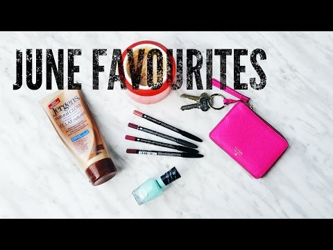 June 2016 Favorites | Smooth Tanned Legs & More