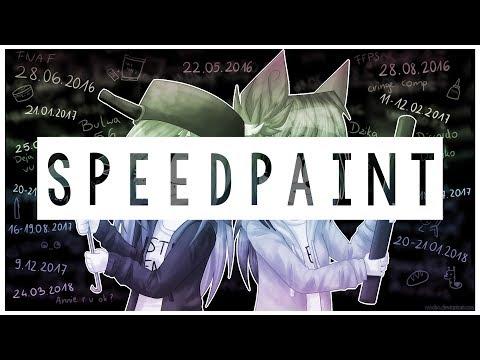 Speedpaint | 2 years of friendship