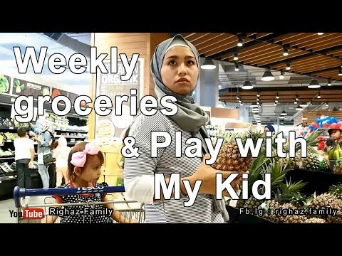 Belanja Mingguan diMalaysia   Weekly Groceries at Tesco IOI City Mall   Righaz Family
