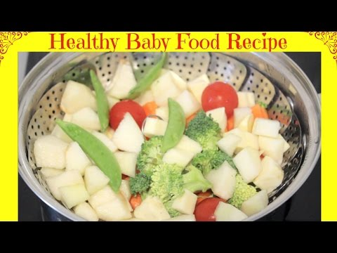 How to Make Healthy Homemade Baby Food Puree | Starting from 6 months | Baby Food