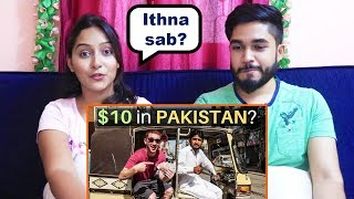 INDIANS react to What Can $10 Get You in KARACHI, PAKISTAN?