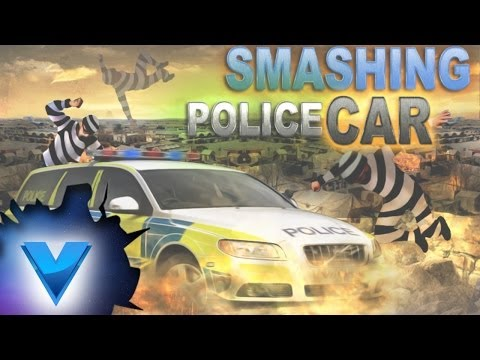 Smash Police Car - Outlaw Run by Vasco Games
