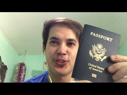 I Got My First U.S Passport - Derivative U.S. Citizenship for Adults