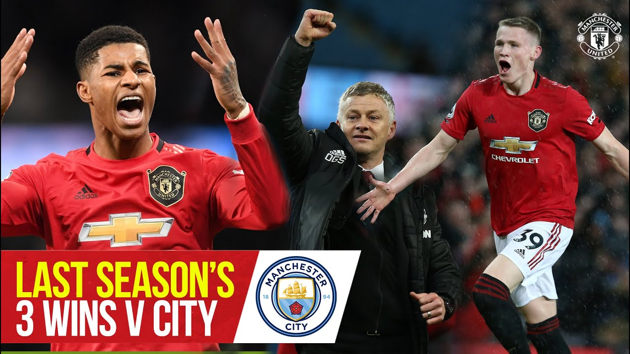 Last season's 3 wins over City | Manchester United v Manchester City | Bitesize Boxset: Derby Days