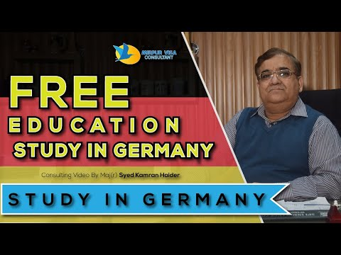 Free Education - Study in Germany