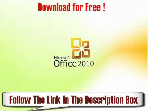 Microsoft Office 2010 License Key Free!