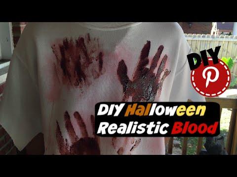 DIY Halloween - Realistic Blood