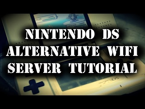 Nintendo DS alternative WiFi server Tutorial