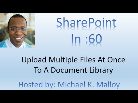 How To Upload Multiple Documents At Once To SharePoint Document Library