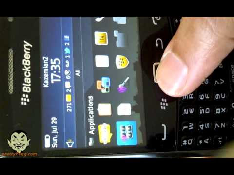 How to use the Voice Dial Commands on the Blackberry Curve OS 7