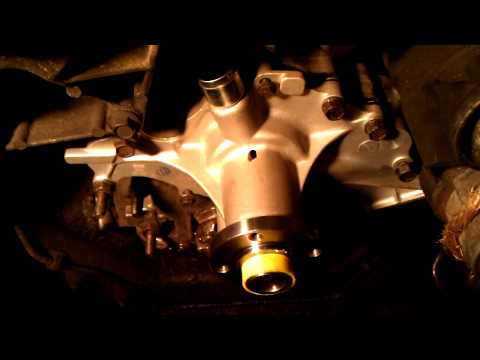 1994 ford ranger, 3.0, water pump, timing chain...