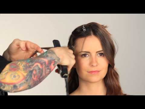 How to Get Silky Volume With a Flat Iron