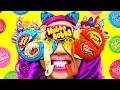 Download SO COOL! DIY HUBBA BUBBA Tape Sunglasses! Fun School Day MP3,3GP,MP4