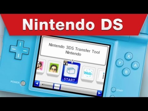 How to Transfer Data From Nintendo DSi to Nintendo 3DS