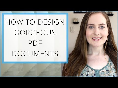 How to Design Gorgeous PDF Files & Lead Magnets with Canva