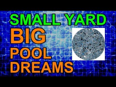 Pool Finish Quartzscapes Color Change - Ep 8 Small Yard Big Pool Dreams