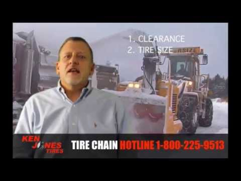 How to Choose the Right Tire Chains | Call 877-844-2010