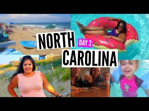 North Carolina Vacation Day 2! FILMING FAIL, MAD GAB, FLASH TATOOS