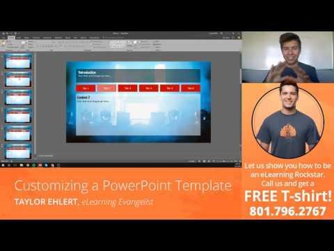 Facebook Live: Customizing a PowerPoint Template