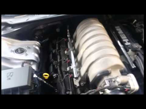 Changing spark plugs on a srt8 300c