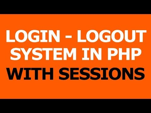 Login Logout system in php with Session - Hindi Tutorials