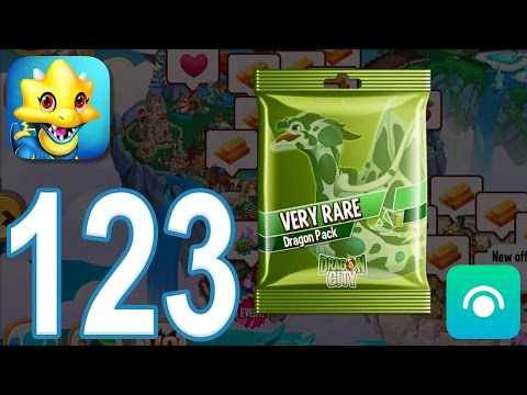 Dragon City - Gameplay Walkthrough Part 123 - Very Rare Dragon Pack (iOS, Android)