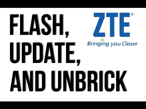 HOW TO FLASH AND UPDATE ZTE ALL MOBILES ?