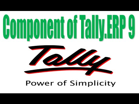Component of Tally ERP 9