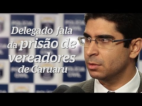 Delegado fala sobre prisão de Vereadores de Caruaru que extorquiam Prefeito