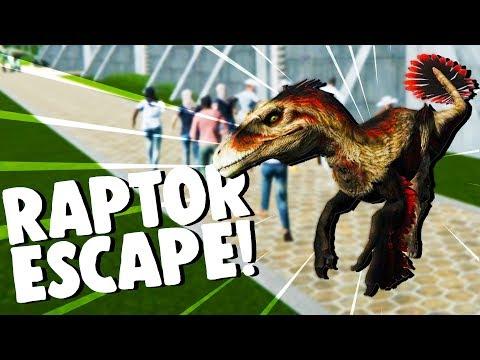 RAPTOR RAMPAGE! - New Dinosaurs Unlocked! - Mesozoica Gameplay -
