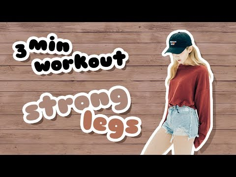 BTS Strong Legs | toning workout