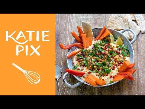 Easy Houmous (Hummus) Recipe | Katie Pix