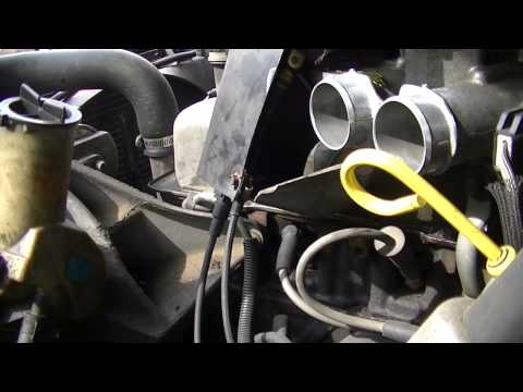 Blue F 150 Throttle Body Cleaning