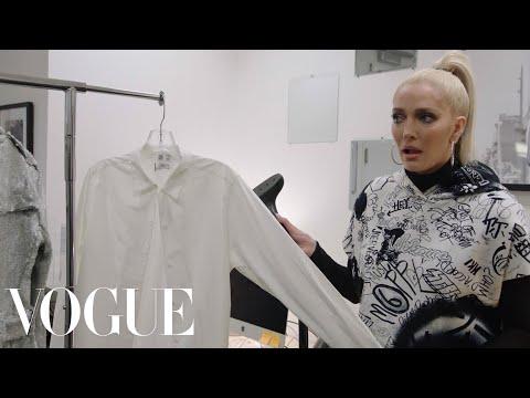 RHOBH's Erika Jayne Works 24 Hours at Vogue
