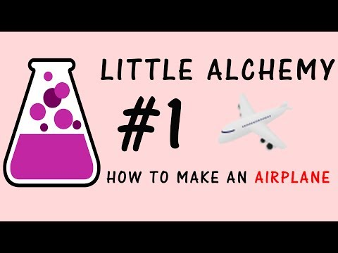 Little Alchemy Walkthrough #1: How to make an Airplane