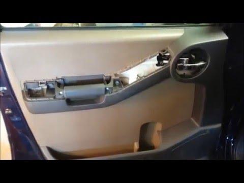 Nissan Xterra how to replace window regulator/remove door panel - YouTube